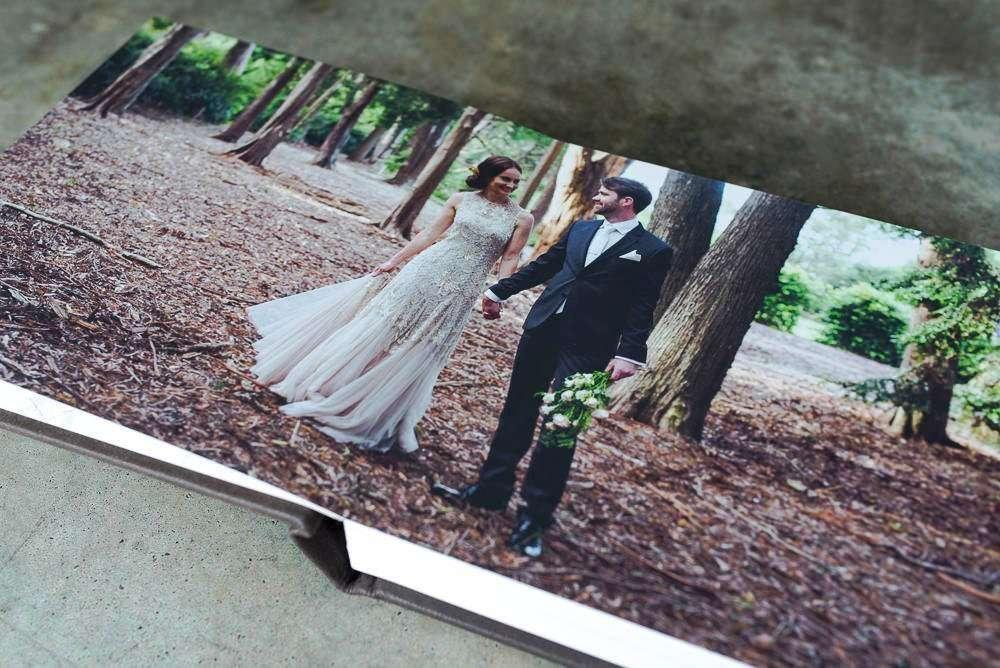 Layflat wedding photo albums