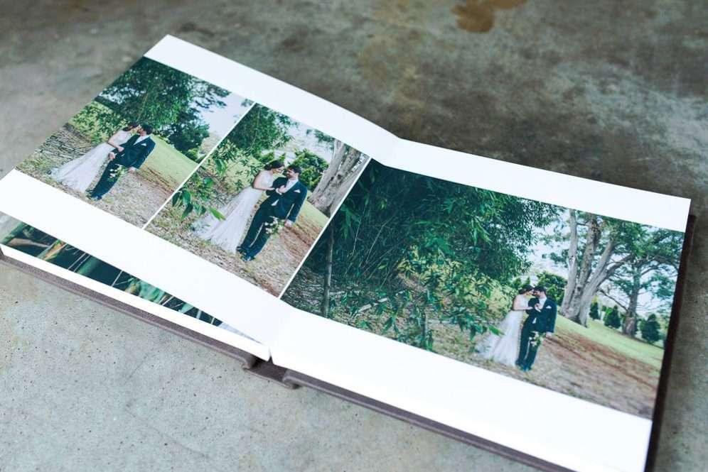 Lay Flat Wedding Photo Albums