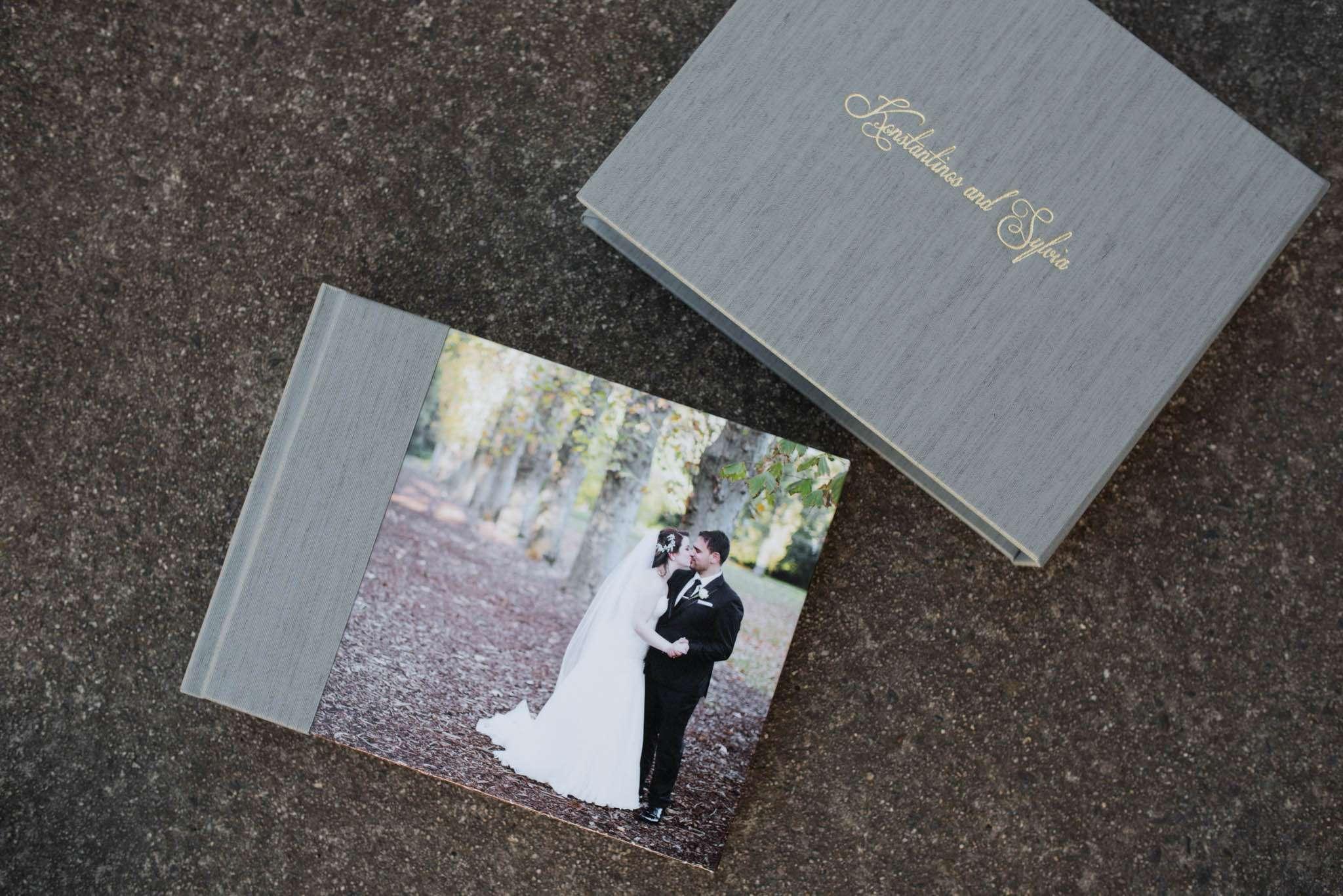 Wedding Albums with Photo Wrap Covers - Horizontal Album