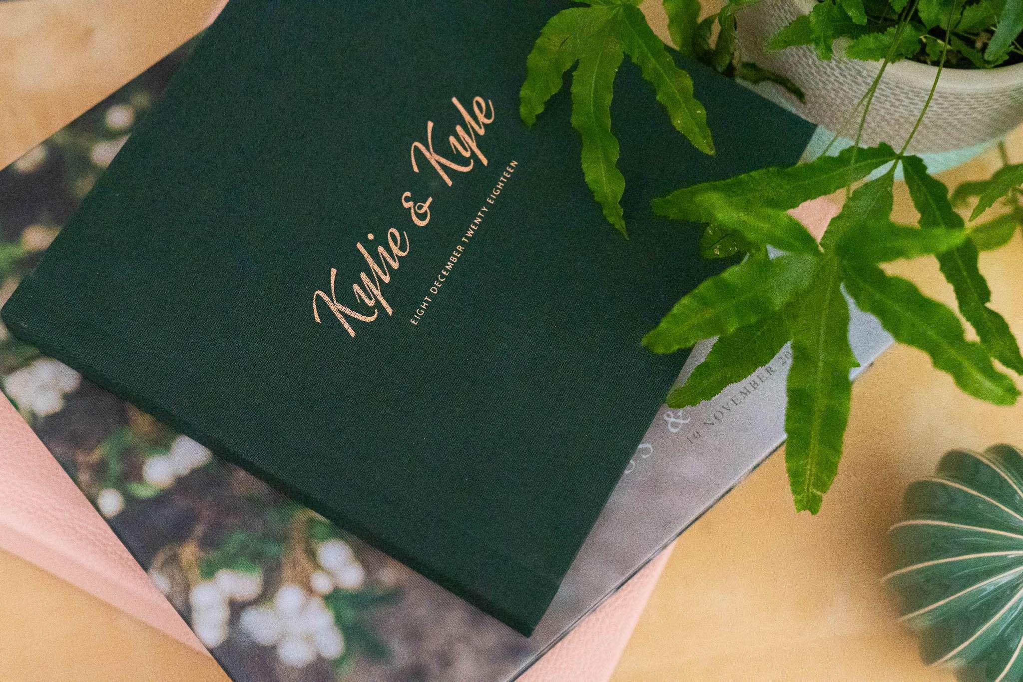Bespoke wedding books and albums to keep your digital photos safe