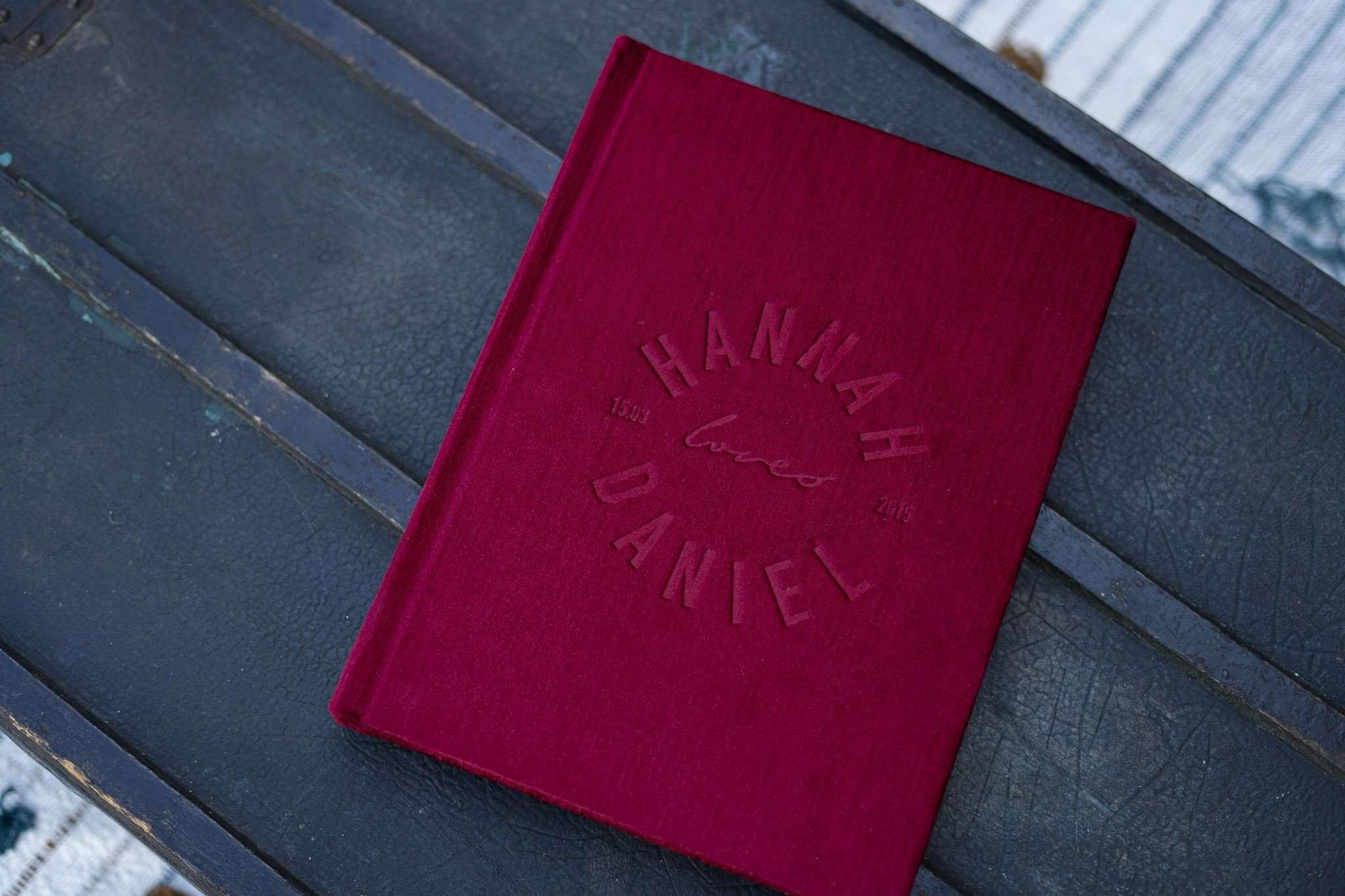 Velvet Wedding Album by The Coffee Table Book Photo Albums & Books